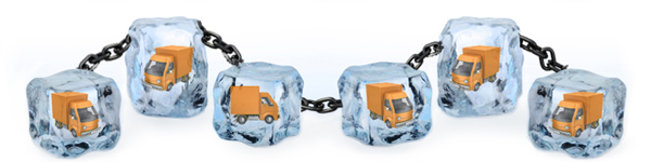 Temperature monitoring for the cold chain industry through vehicle tracking