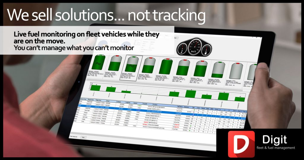 Digit Fuel monitoring diesel theft prevention device