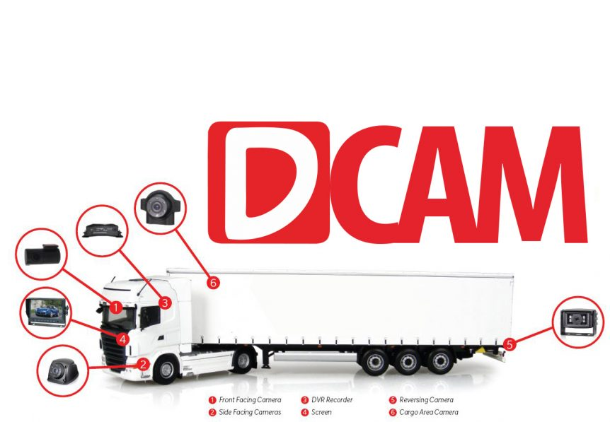 Dcam Truck camera system